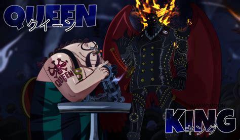 piece  king wildfire queen  plague kaido