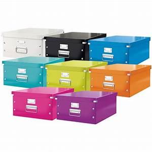Boite De Rangement Carton : boite de rangement wow a3 420 x 297 mm blanc leitz 6045 00 01 az fournitures ~ Teatrodelosmanantiales.com Idées de Décoration