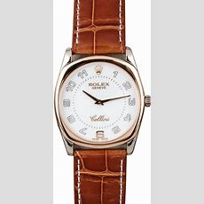 Rolex Cellini 4233 White And Rose Gold