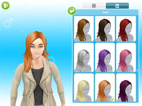 missys sims  stuff  sims freeplay boutique hair