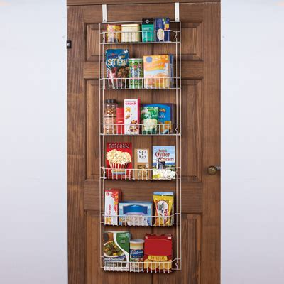 The Door Organizer For Pantry The Door Pantry Organizer Rack 5ft From Collections