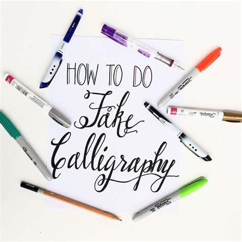 How To Create Fake Calligraphy · How To Draw A Piece Of Calligraphy · Art On Cut Out + Keep