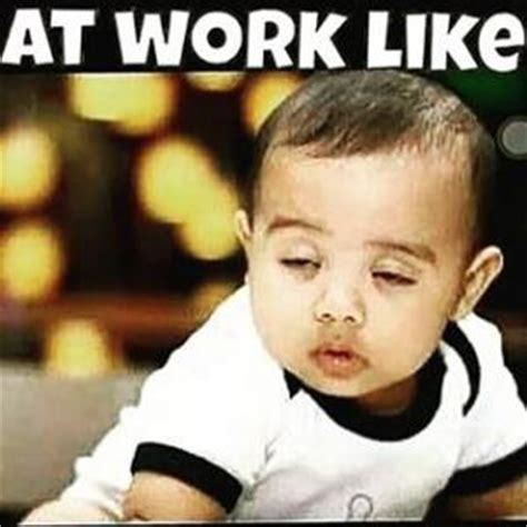 Tired At Work Meme - funny baby pictures kappit