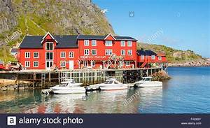 Häuser In Norwegen : traditionellen rot bemalte h user lofoten inseln norwegen stockfoto bild 92490215 alamy ~ Buech-reservation.com Haus und Dekorationen