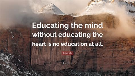 aristotle quote educating  mind  educating