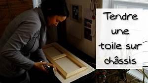 Comment Encadrer Une Toile : comment tendre une toile sur ch ssis en quelques tapes faciles youtube ~ Voncanada.com Idées de Décoration