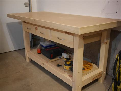 workbench  plywood  hardboard top  benoitm