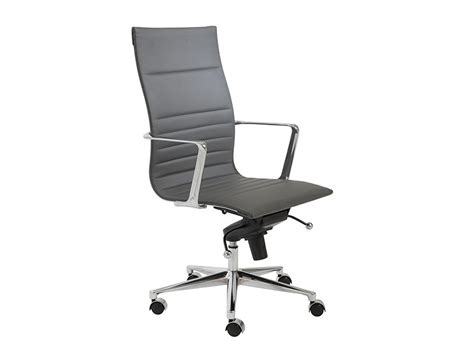 top office high chair and kyler high back office chair