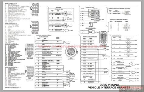 Detroit Diesel Ddec Cpc Vehicle Interface Harness