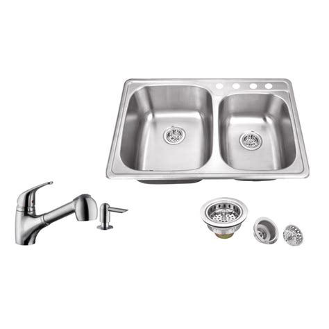 what are kitchen sinks made of ipt sink company drop in 33 in 4 stainless steel 9612
