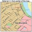 New Brunswick New Jersey Street Map 3451210