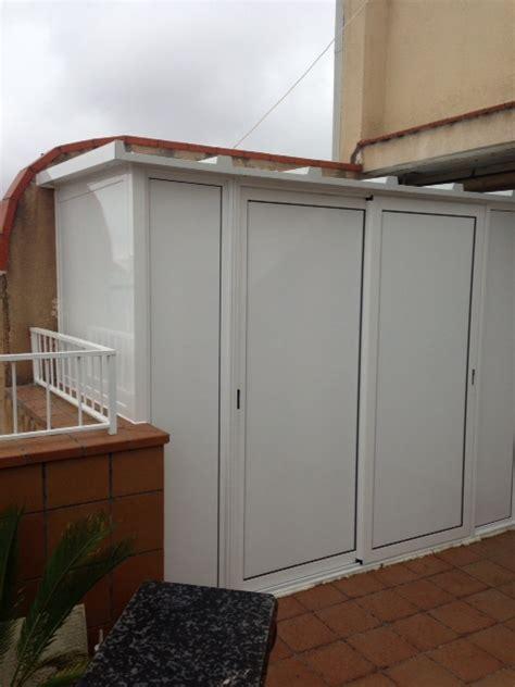 armarios exteriores  trasteros de aluminio carpinteria