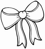 Coloring Bow Pages Clothes sketch template