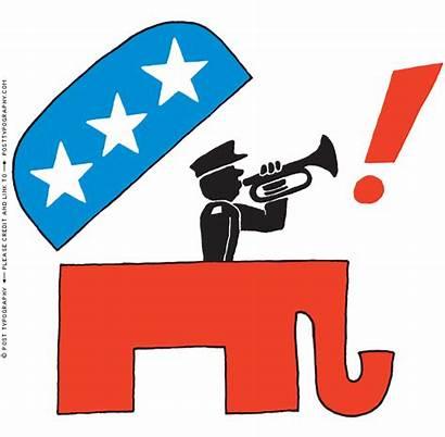 Party Cliparts Political Clipart Democratic Elephant Republican