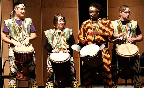 west african drumming ensemble  department