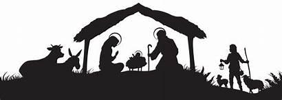 Silhouette Wisemen Nativity Jesus Christmas Transparent Clip