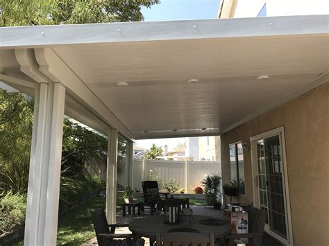 alumawood insulated roofed patio cover patiocovered
