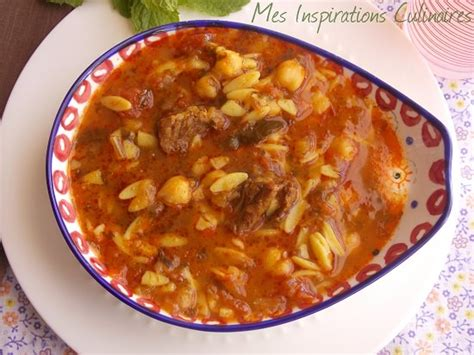 cuisine tunisienne chorba chorba algerienne aux langues d 39 oiseaux le cuisine