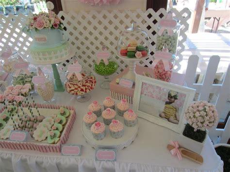 rosey garden baby shower ideas themes