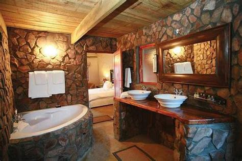 Spa Bathroom Design Rustic Spa Bathroom Design