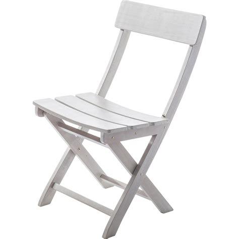 chaise de jardin chaise de jardin en bois portofino gris leroy merlin