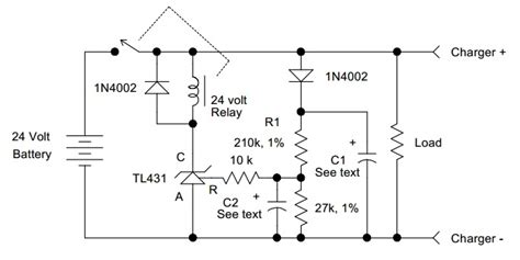 Battery Discharge Monitor Power Supply Circuits