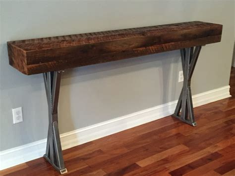 Small Driftwood Console Table Console Table Driftwood