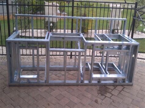 build outdoor kitchen building outdoor kitchen building outdoor kitchen with metal studs build your own outdoor