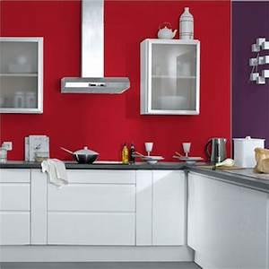 ide couleur peinture cuisine stunning ide couleur With peinture rouge pour cuisine