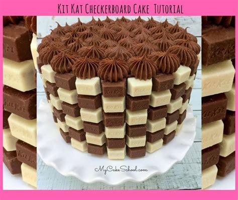 checkerboard cake square