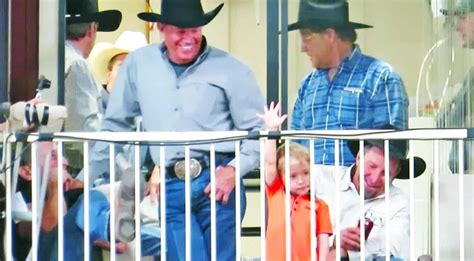 This Video Of George Strait & His Grandson Will Have You