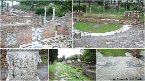 port de la rome antique ostie le port de la rome antique cassonade et camembert