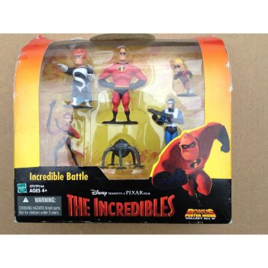 Disney The Incredibles Incredible Battle Figure Set Toy By