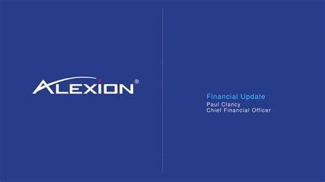 Alexion Pharmaceuticals, Inc. 2018 Q1 - Results - Earnings ...