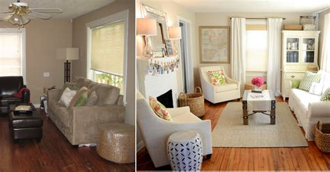 Iron & Twine Living Room Before & After