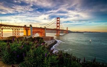 Francisco San Wallpapers Summer Bridge California Sf