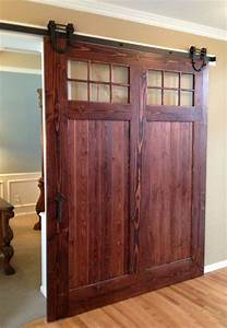 5 6 66 75 8 82ft high quality steel interior sliding With 6 foot barn door hardware