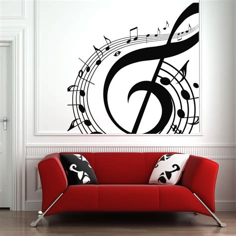 Music Notes Swirl Wall Art Sticker Wall Art Decals. Childrens Lettering. Bike Riding Signs Of Stroke. Mixed Logo. Happy Birthday Banner