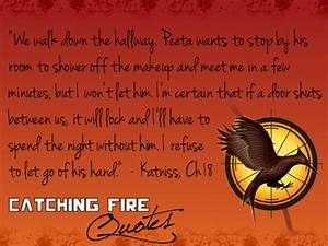 Catching Fire quotes - The Hunger Games Fan Art (33930750 ...