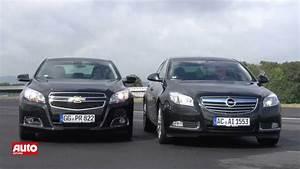 Opel Insignia 2012 : vergleichstest chevrolet malibu 2012 trifft opel insignia hd youtube ~ Medecine-chirurgie-esthetiques.com Avis de Voitures