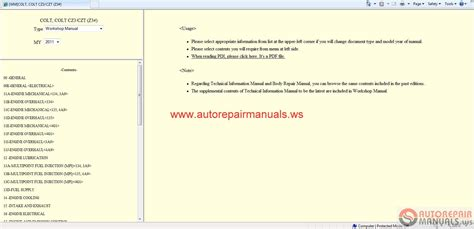download car manuals pdf free 2011 mitsubishi lancer free book repair manuals mitsubishi colt 2011 service manual auto repair manual forum heavy equipment forums