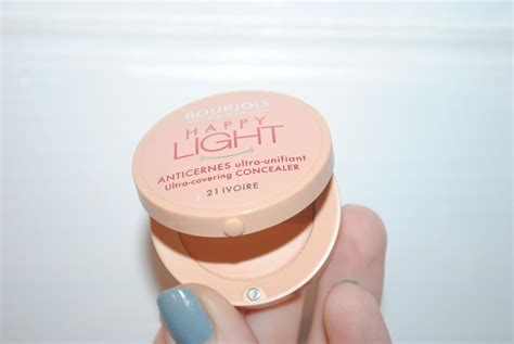 happy light reviews bourjois happy light concealer review swatch before and