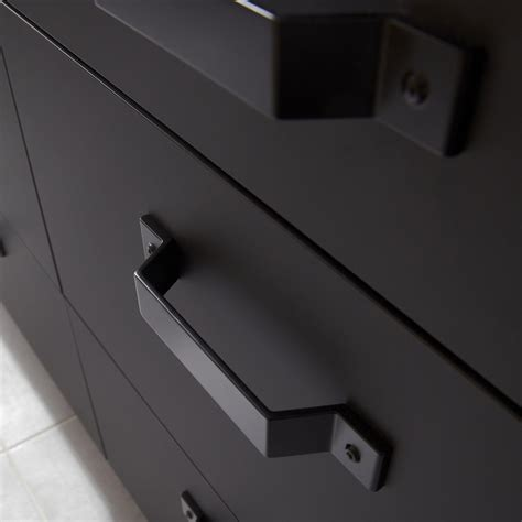 armoire de cuisine leroy merlin porte sous évier de cuisine noir fs45 mat edition l45 x