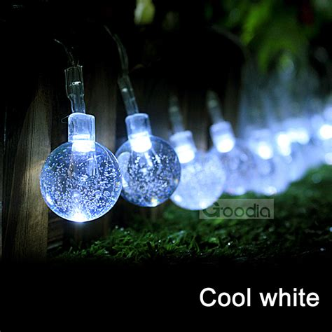 aa battery cool white lights 175 inches 40 led