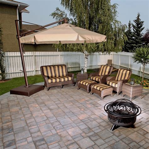 On The Patio by Paving Patios Calgary Landscaping Company