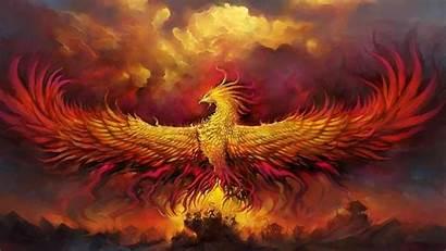 Phoenix Bird Computer Wallpapers Screensavers Desktop Resolution