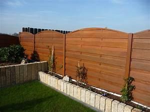 Panneaux Rigide Pour Cloture : gamme modula panneaux bois cloture nicolas ~ Edinachiropracticcenter.com Idées de Décoration