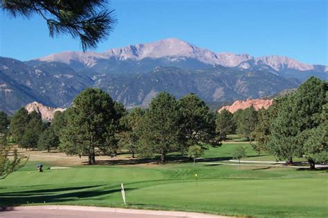 golf tournament at garden of the gods club s