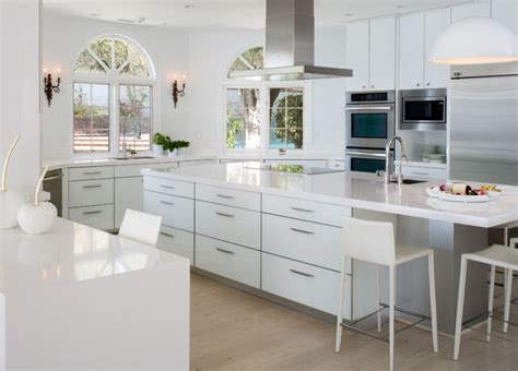 look for design kitchen how to warm up an all white kitchen bernier designs 7177