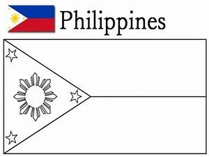 philippines flag free coloring pages